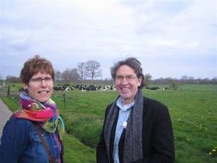 Irona Groeneveld en Theo van de Bles