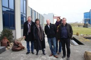 Retze vd Honing, Corrie Dam, Ralph de Graaf, Petra Vlutters, Jan Atze Nicolai - de top 5 van de GrienLinks kandidatenlijst