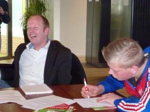 Ralph de Graaf Friesland College speeddate maart 2015