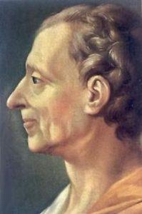 Charles Montesquieu, grondlegger van de 'scheiding der machten'